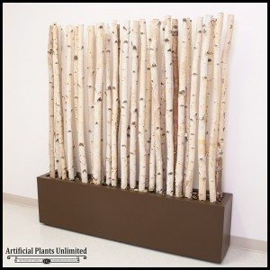 Birch Branches Planter Space Divider