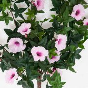 Outdoor Artificial Morning Glory Vine - Pink Flowers