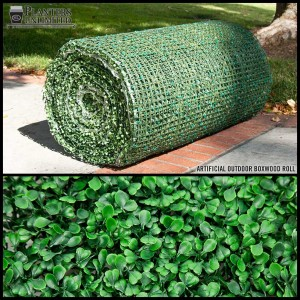 UV Rated Boxwood Living Wall Roll