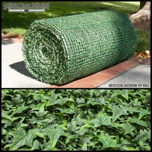 UV-Rated Artificial Ivy Living Wall Roll
