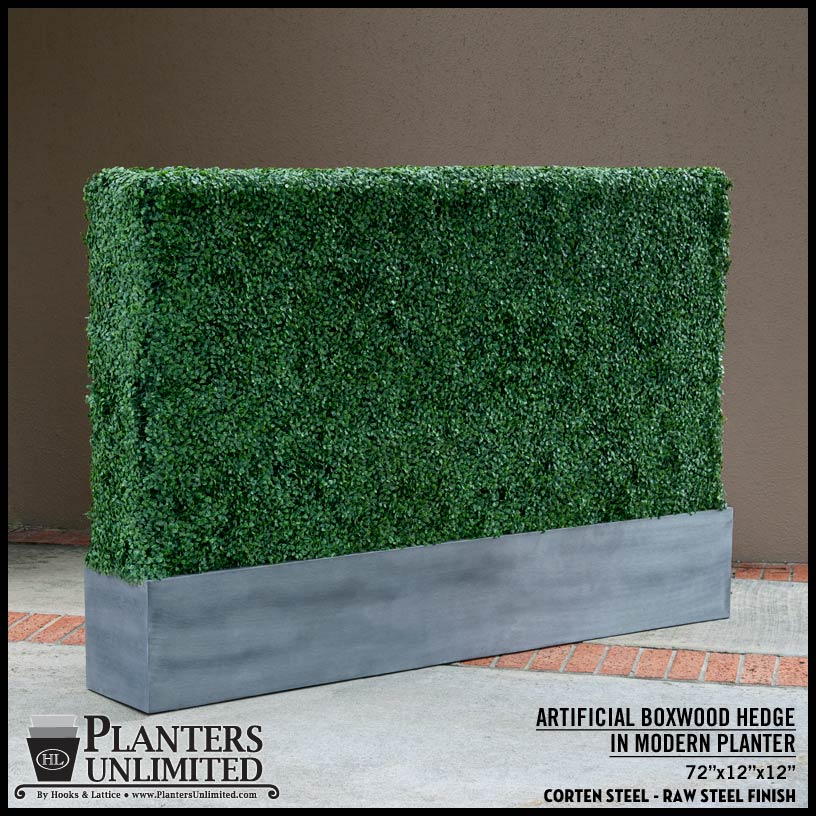 choosing the right foliage & artificial plants in metal commercial Artificial Plants in Planters