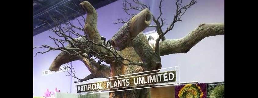 Artificial Plants Unlimited Booth - IAAPA Expo 2015 Orlando, Florida