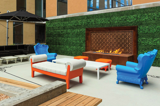 Custom Built Commercial-Grade Boxwood Hedges